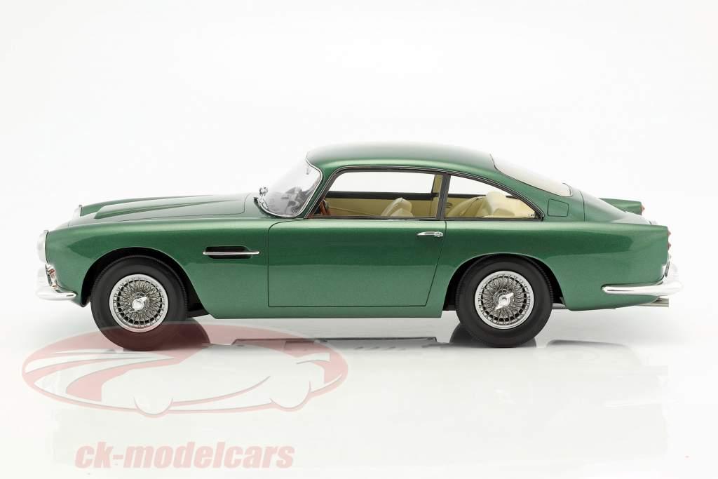 Aston Martin DB4 DHC Baujahr 1964 grün metallic 1:12 Matrix