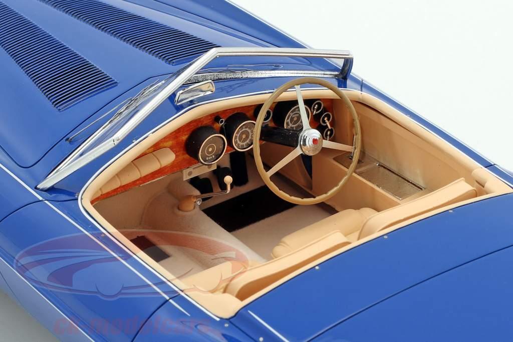 Bugatti T101C Exner-Ghia Spider year 1966 blue 1:18 Matrix