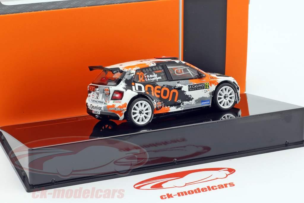 Skoda Fabia R5 #72 Rallye Monte Carlo 2018 Burri, Levratti 1:43 Ixo