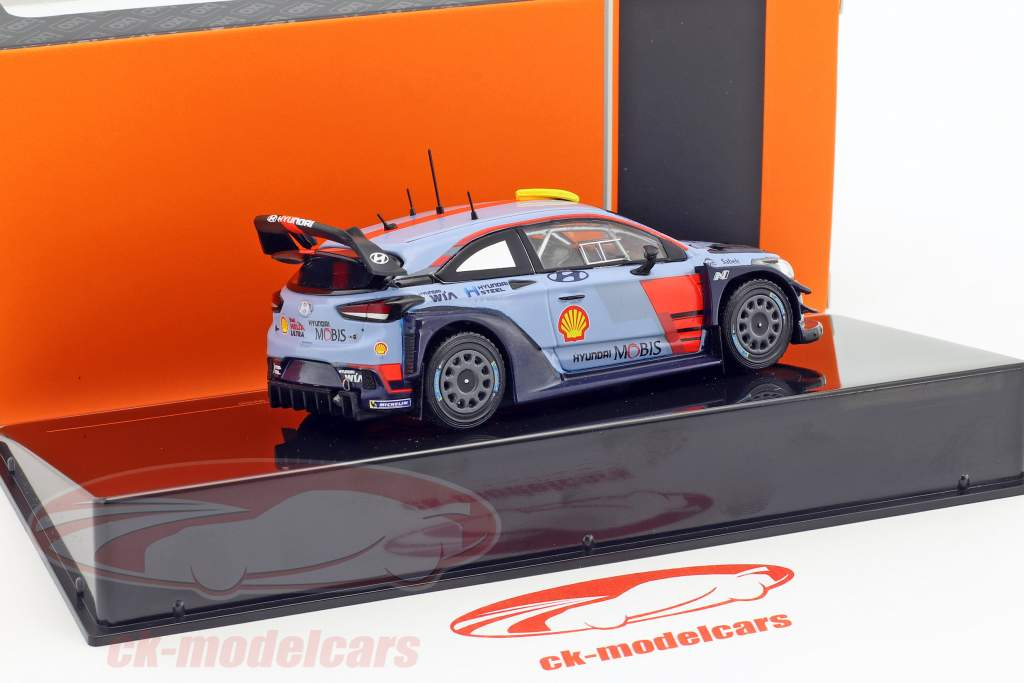Hyundai i20 Coupe WRC #4 #5 Rallye Spanien 2017 1:43 Ixo