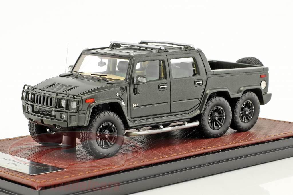Hummer H2 SUT6 anno di costruzione 2012 nero 1:43 GLM