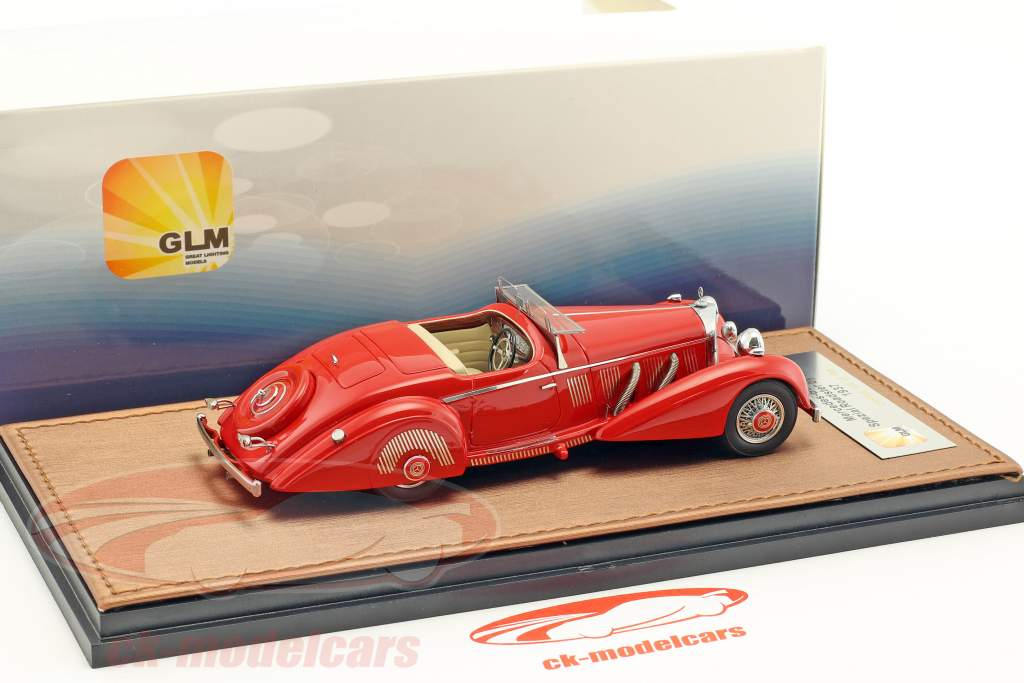 Mercedes-Benz 540K Special Roadster by Mayfair year 1937 red 1:43 GLM