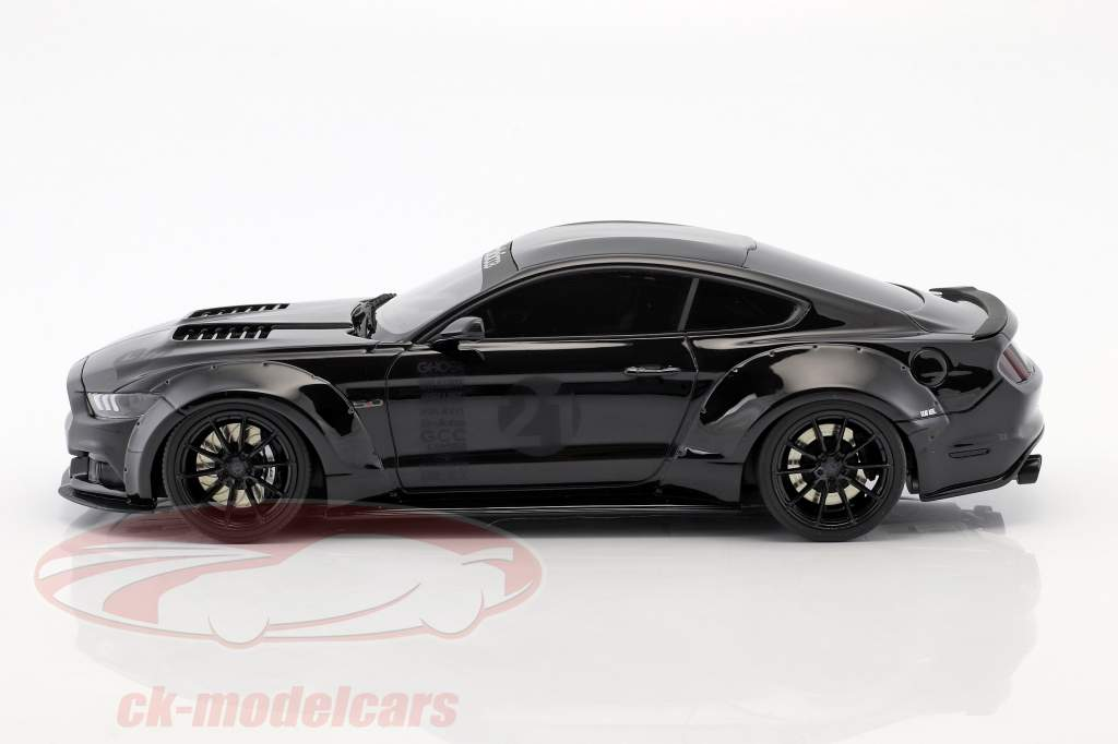 Ford Mustang by Toshi year 2017 black 1:18 GT-Spirit