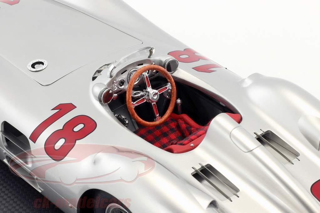 J. M. Fangio Mercedes-Benz W196R #18 vincitore francese GP campione del mondo F1 1954 1:12 GP Replicas
