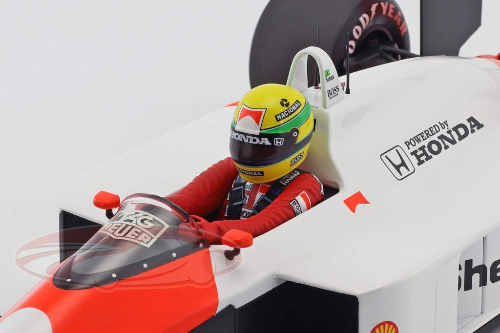 Ayrton Senna McLaren MP4/4 #12 champion du monde formule 1 1988 1:12 Minichamps