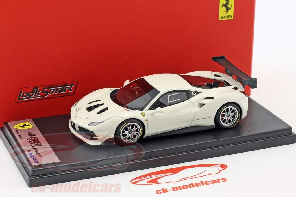 Ferrari 488 Challenge avus white 1:43 LookSmart