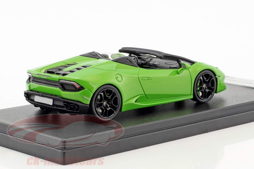 Lamborghini Huracan LP 580-2 Spider year 2016 mantis green 1:43 LookSmart