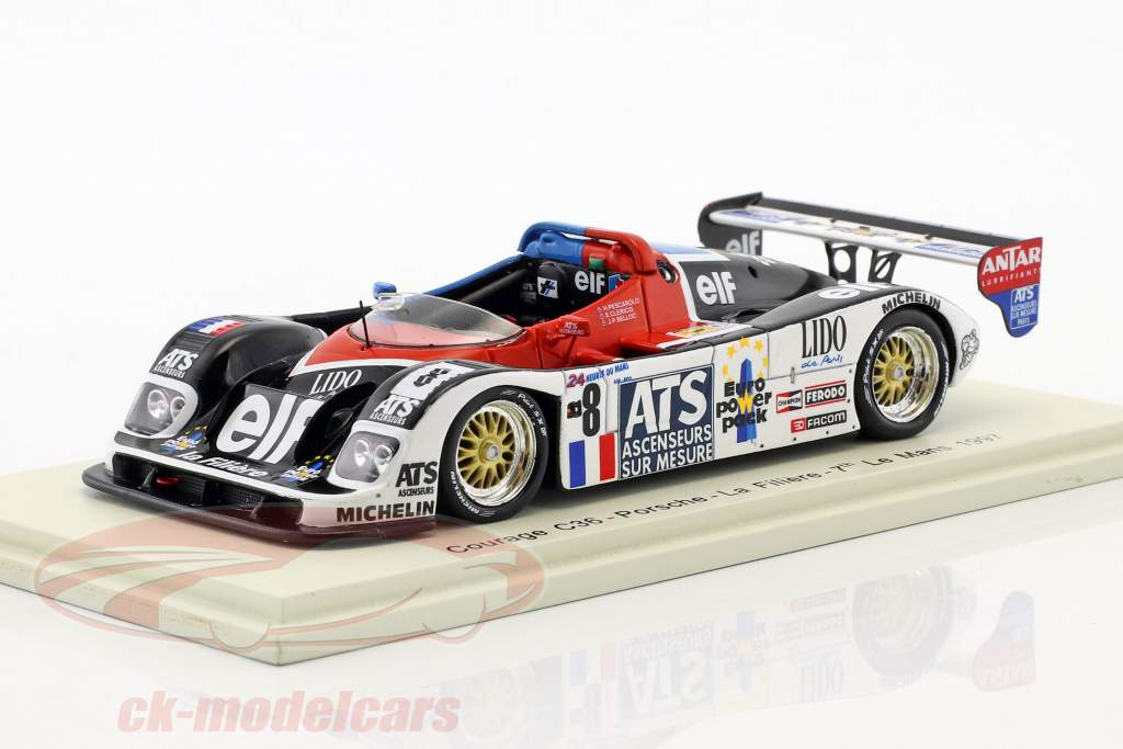 Courage C36 #8 24h LeMans 1997 Pescarolo, Belloc, Clerico 1:43 Spark