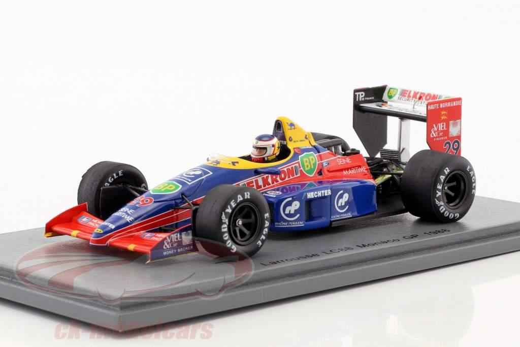 Yannick Dalmas Lola LC88 #29 monaco GP formula 1 1988 1:43 Spark