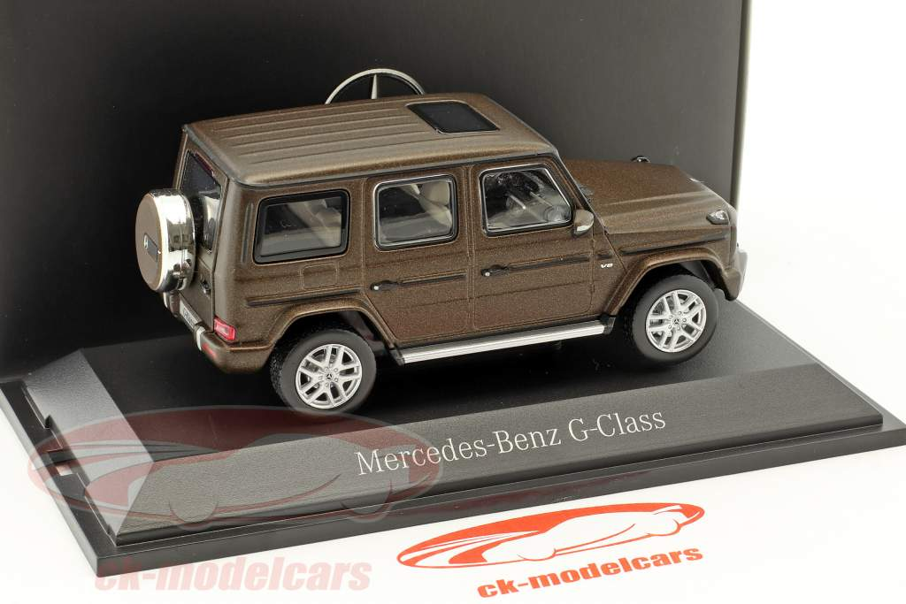 Mercedes-Benz G-Class (W463) designo citrine brown magno 1:43 Norev