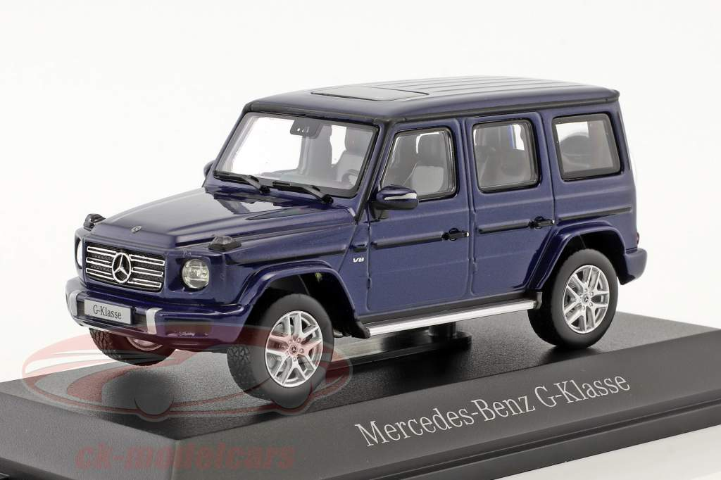 Mercedes-Benz G-Klasse (W463) brillantblau metallic 1:43 Norev
