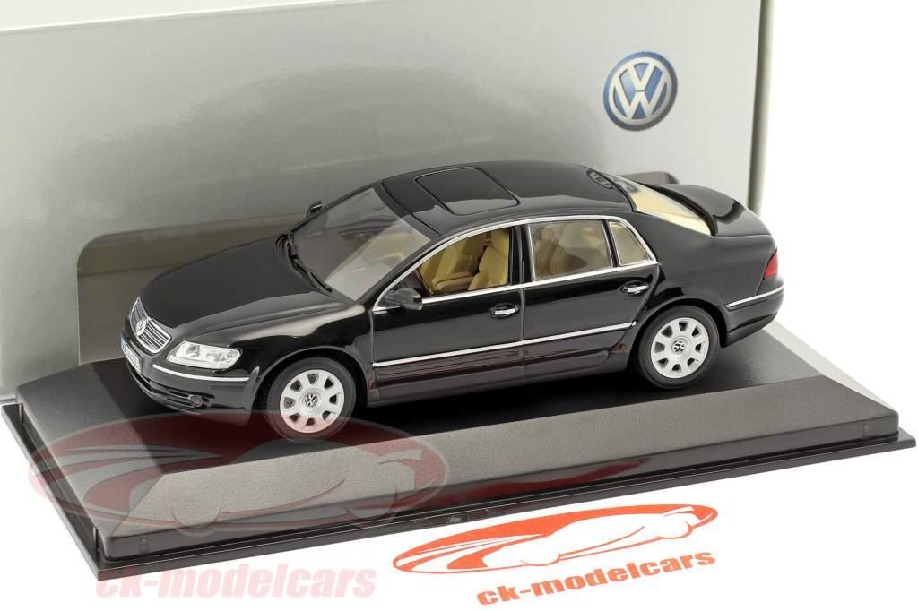 Volkswagen VW Phaeton noir 1:43 Minichamps / faux suremballage