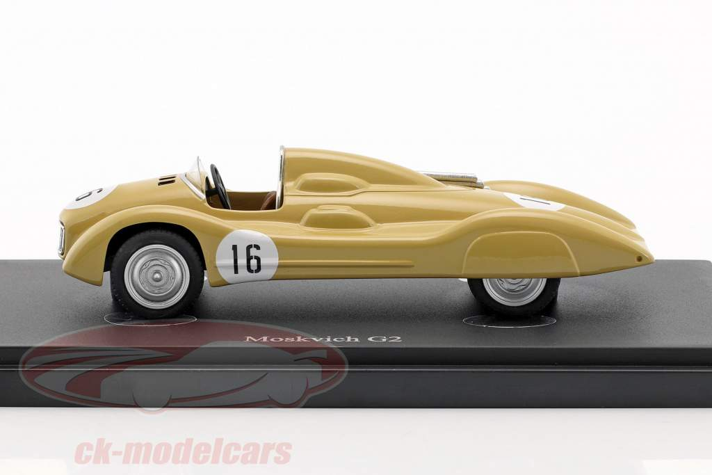 Moskvich G2 #16 Baujahr 1959 beige 1:43 AutoCult