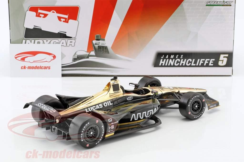 James Hinchcliffe Honda #5 IndyCar Series 2018 Schmidt Peterson Motorsports 1:18 Greenlight