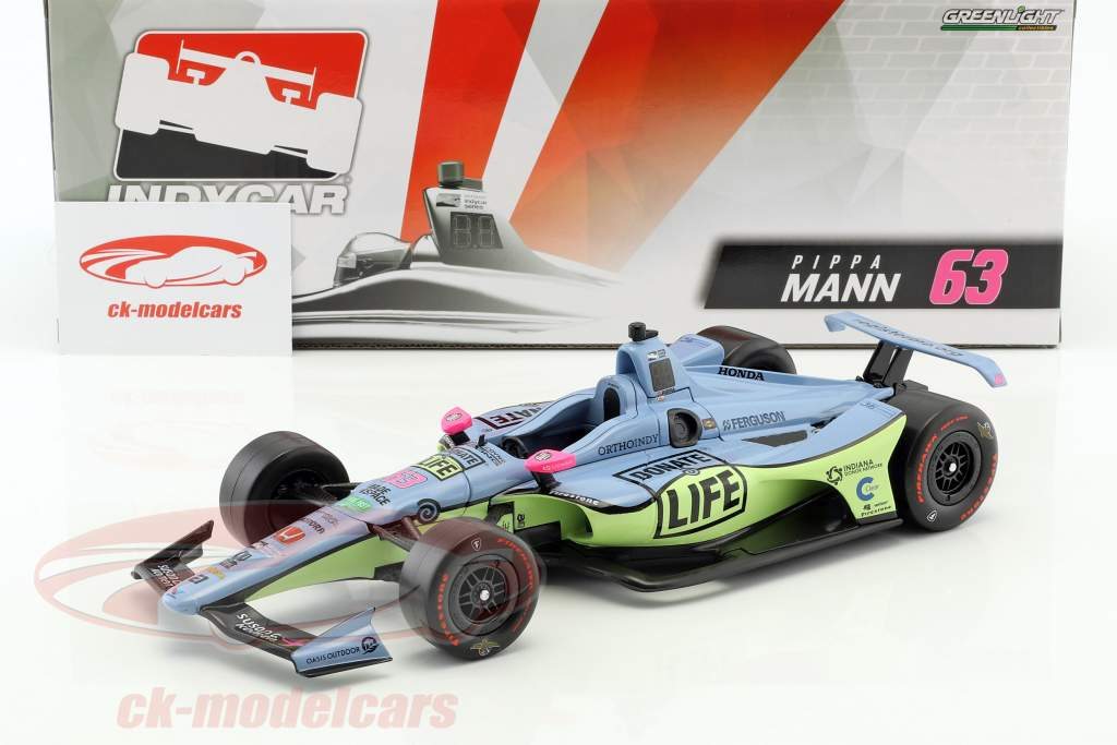Pippa Mann Honda #63 IndyCar Series 2018 Dale Coyne Racing 1:18 Greenlight