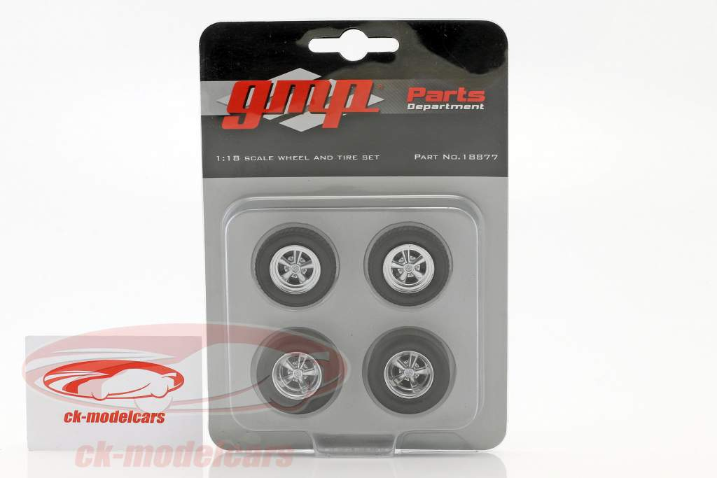 Drag Kings Wheel and Tire Set (from GMP18876) 1:18 GMP