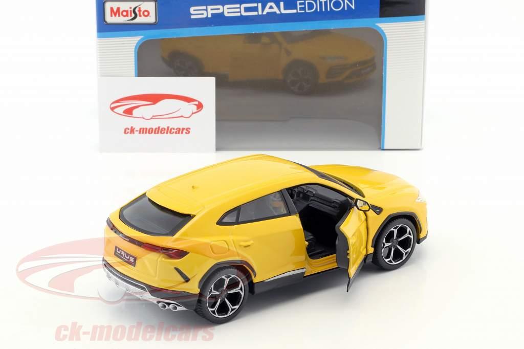 Lamborghini Urus jaune 1:24 Maisto