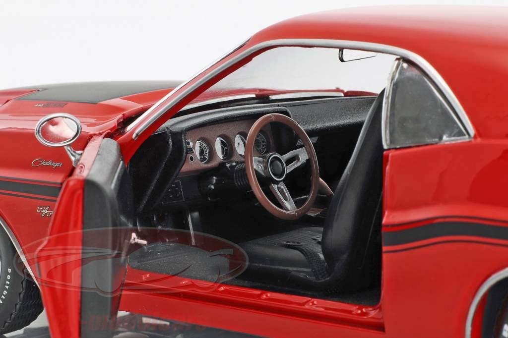 Dodge Challenger R/T année de construction 1970 Série TV Hawaii Five-O (depuis 2010) rouge 1:18 Greenlight