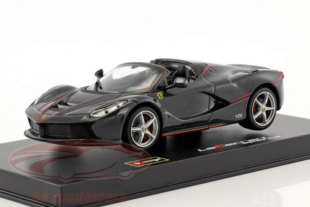Ferrari LaFerrari Aperta noir 1:43 Bburago Signature