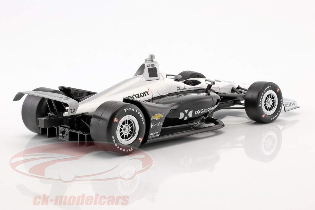Simon Pagenaud Chevrolet #22 IndyCar Series 2018 Team Penske (DKC Technology) 1:18 Greenlight