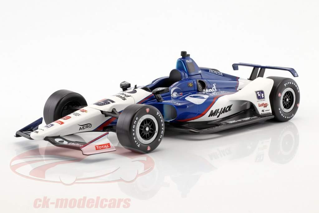 Graham Rahal Honda #15 IndyCar Series 2018 Rahal Letterman Lanigan Racing 1:18 Greenlight