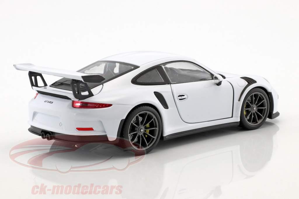Porsche 911 (991) GT3 RS year 2016 white 1:24 Welly