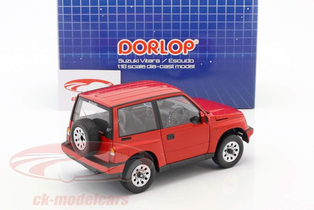 Suzuki Vitara / Escudo RHD rouge 1:18 Dorlop