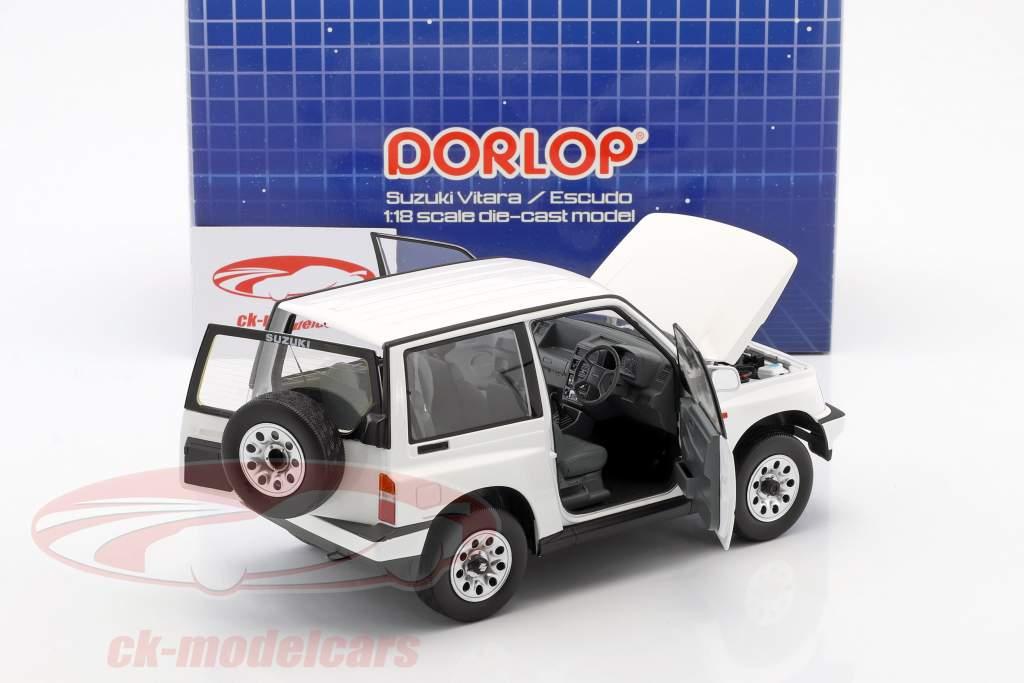 Suzuki Vitara / Escudo RHD blanc 1:18 Dorlop