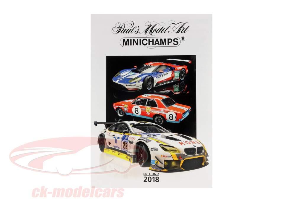 Minichamps catalogue édition 2 2018
