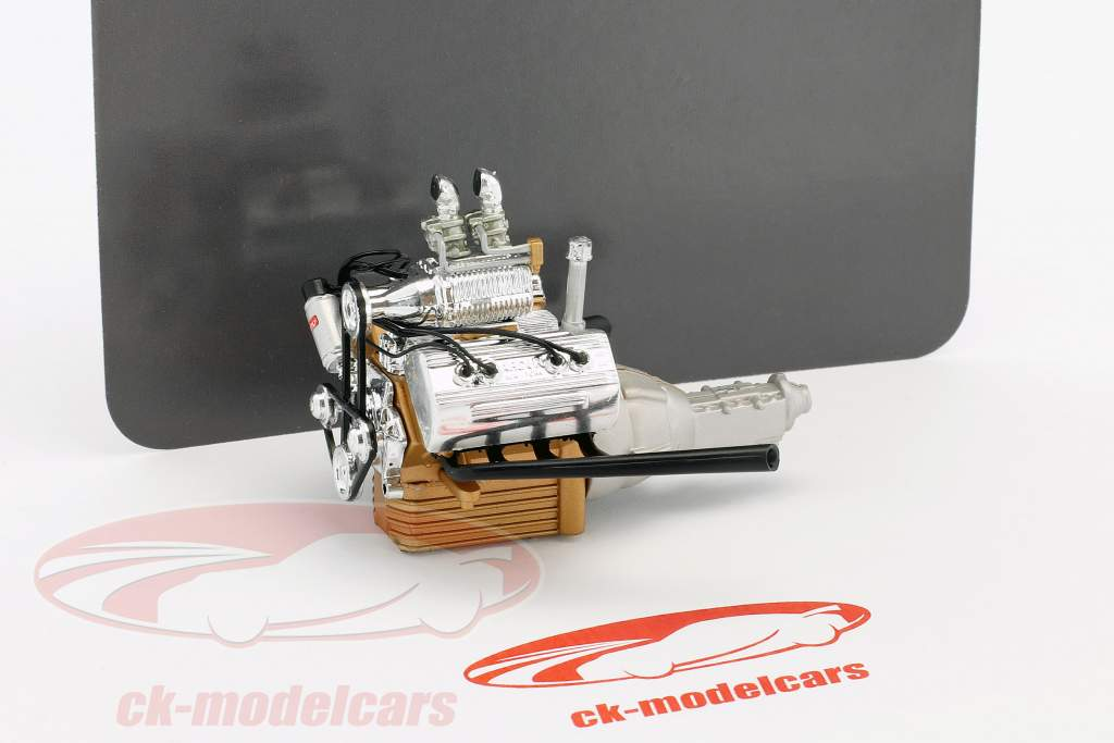 Hot Rod Engine and transmission Ford 5 Window (A1805013) 1:18 GMP
