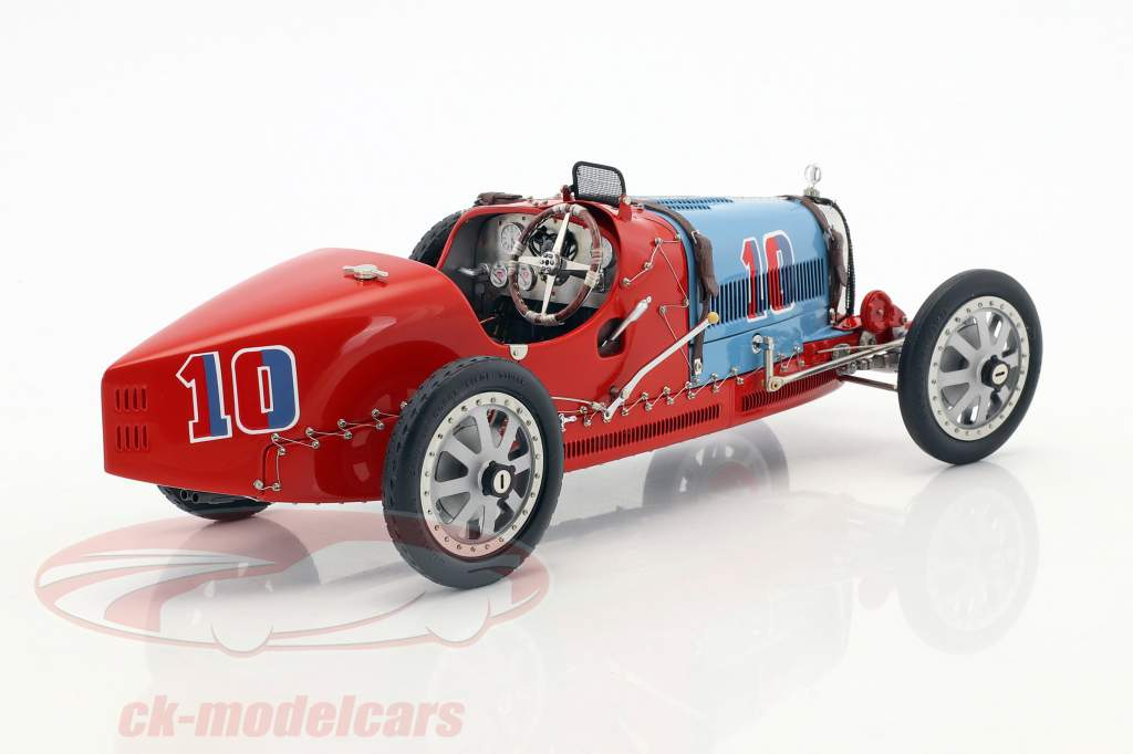 Bugatti tipo 35 Grand Prix #10 Nation Colour Project chile 1:18 CMC