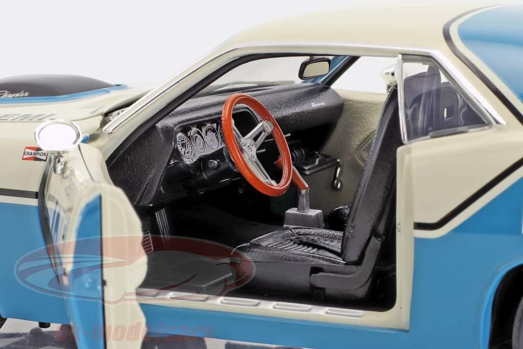 Plymouth Barracuda Trans Am #42 année de construction 1970 Henri Chemin 1:18 GMP