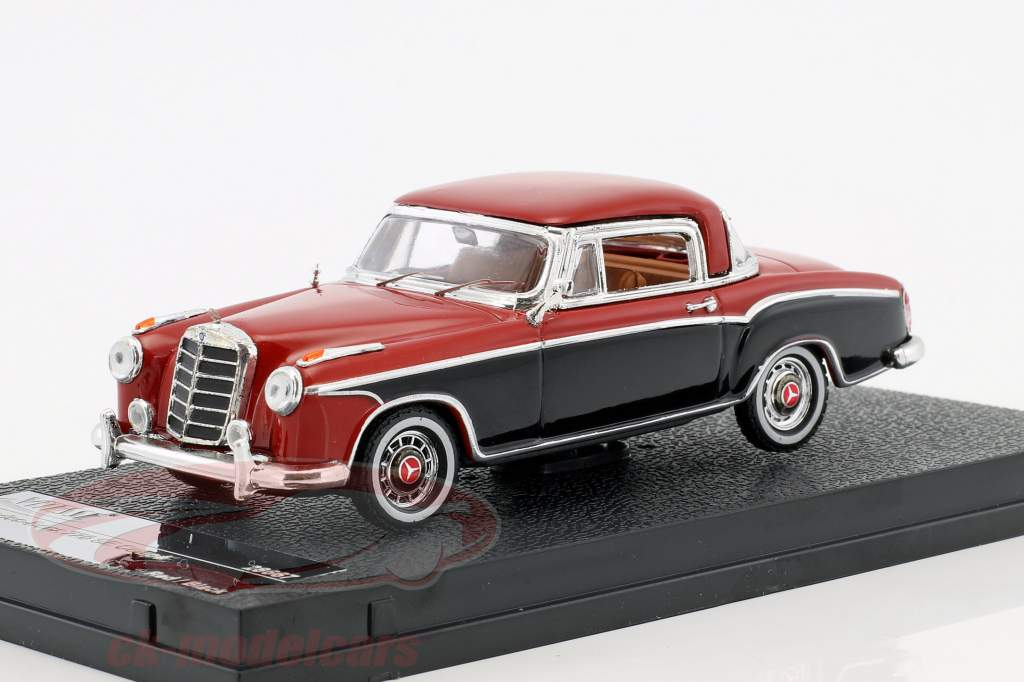 Mercedes-Benz 220 SE coupe year 1958 red / black 1:43 Vitesse