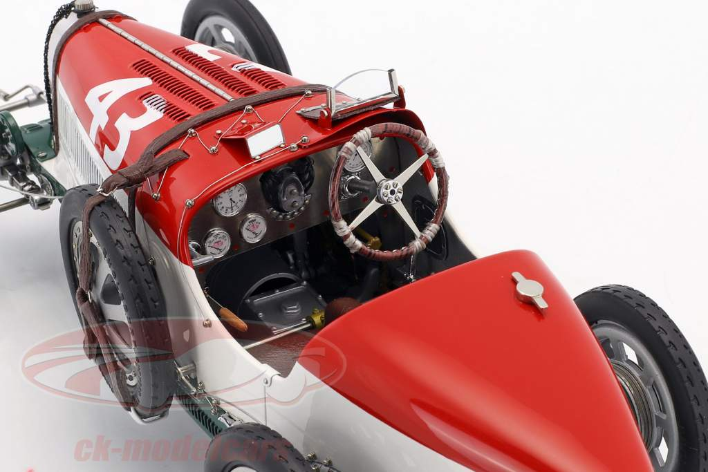 Bugatti type 35 Grand Prix #43 Nation Colour Project Hongrie 1:18 CMC