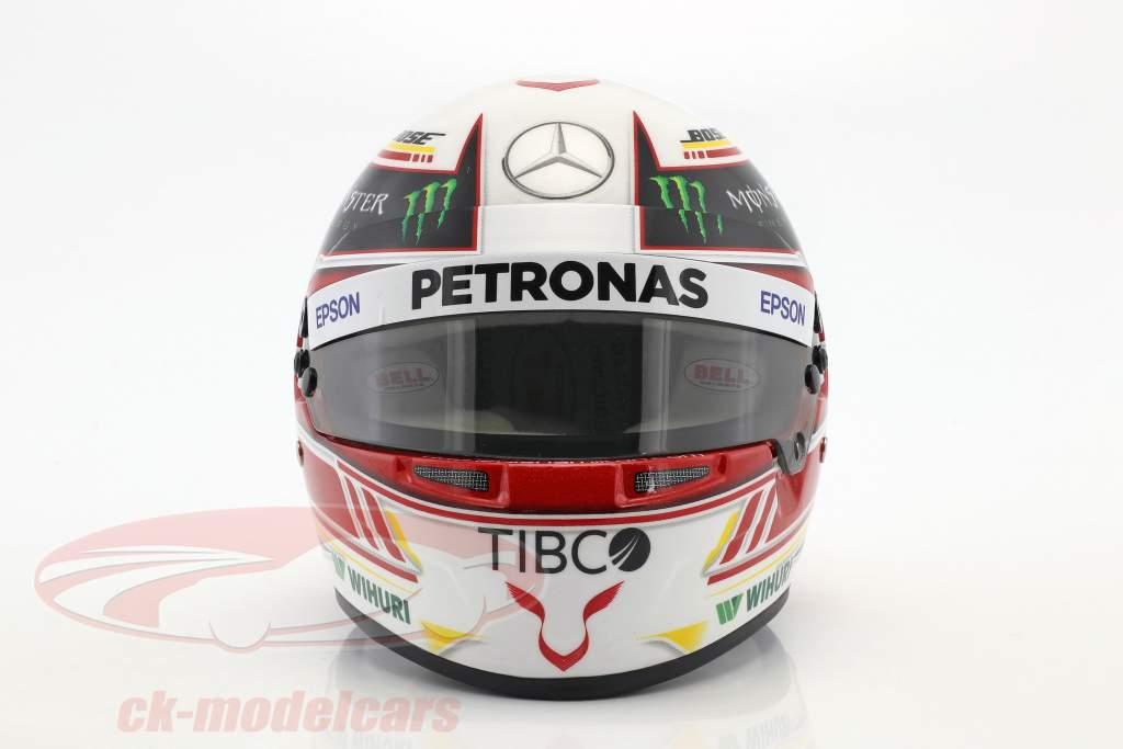 Lewis Hamilton Mercedes GP Formel 1 2018 Helm 1:2 Bell