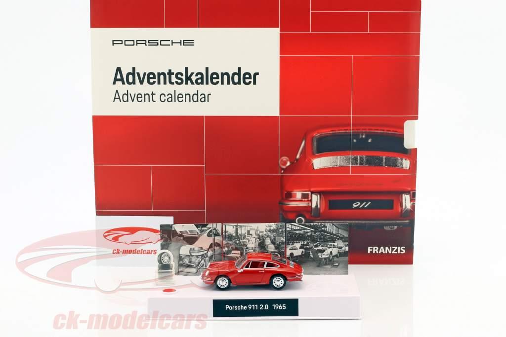 Porsche Advent calendar 2018: A Porsche under your christmas tree in just 24 steps