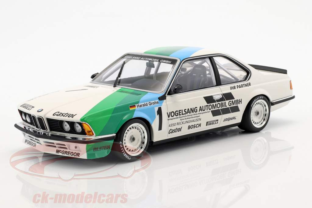 BMW 635 CSi #1 gagnant Bergischer Löwe Zolder 1984 Harald Grohs 1:18 Minichamps