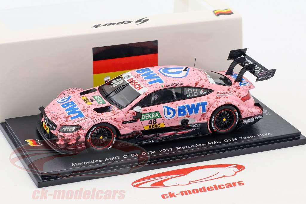 Mercedes-Benz AMG C 63 #48 DTM 2017 Edoardo Mortara 1:43 Spark