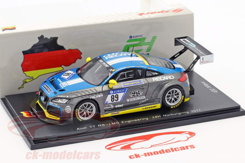 Audi TT RS #89 24h Nürburgring 2017 LMS Engineering 1:43 Spark