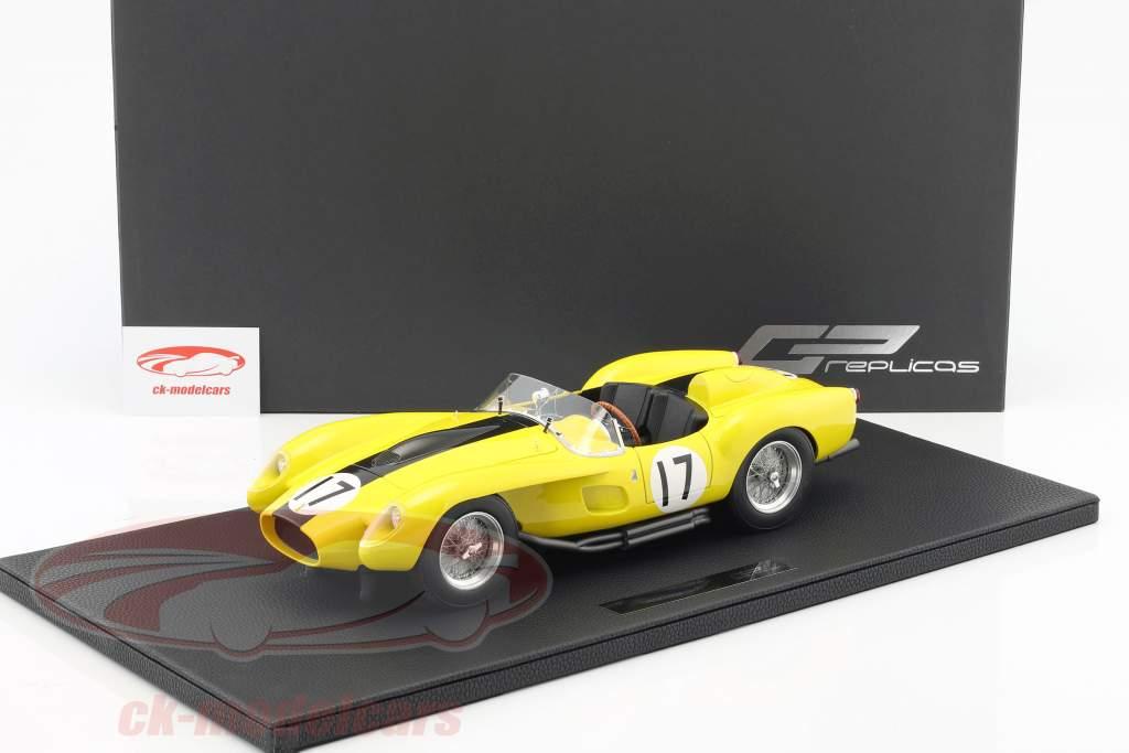 Ferrari 250 Testa Rossa #17 year 1958 yellow / black 1:12 GP Replicas