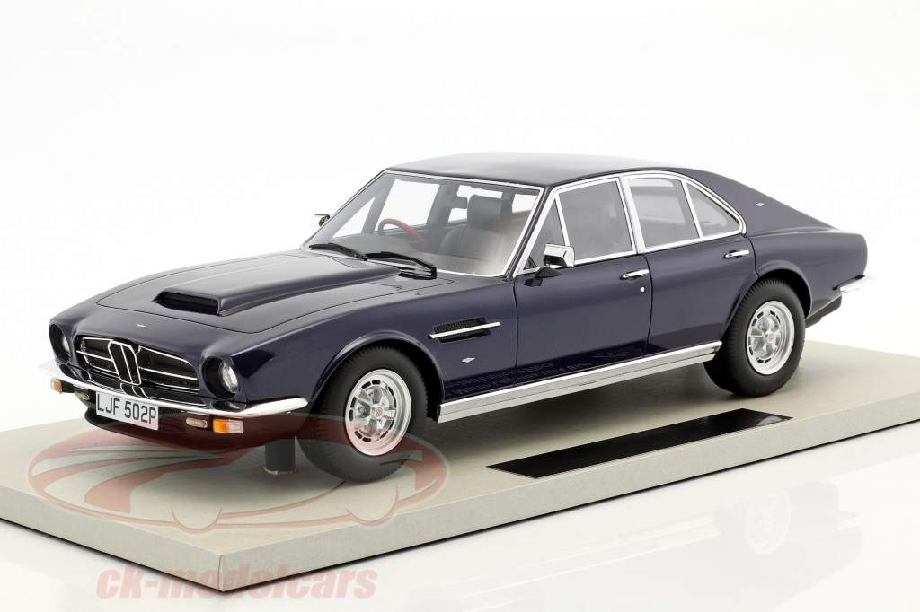 Aston Martin Lagonda Baujahr 1974 dunkelblau 1:18 LS Collectibles