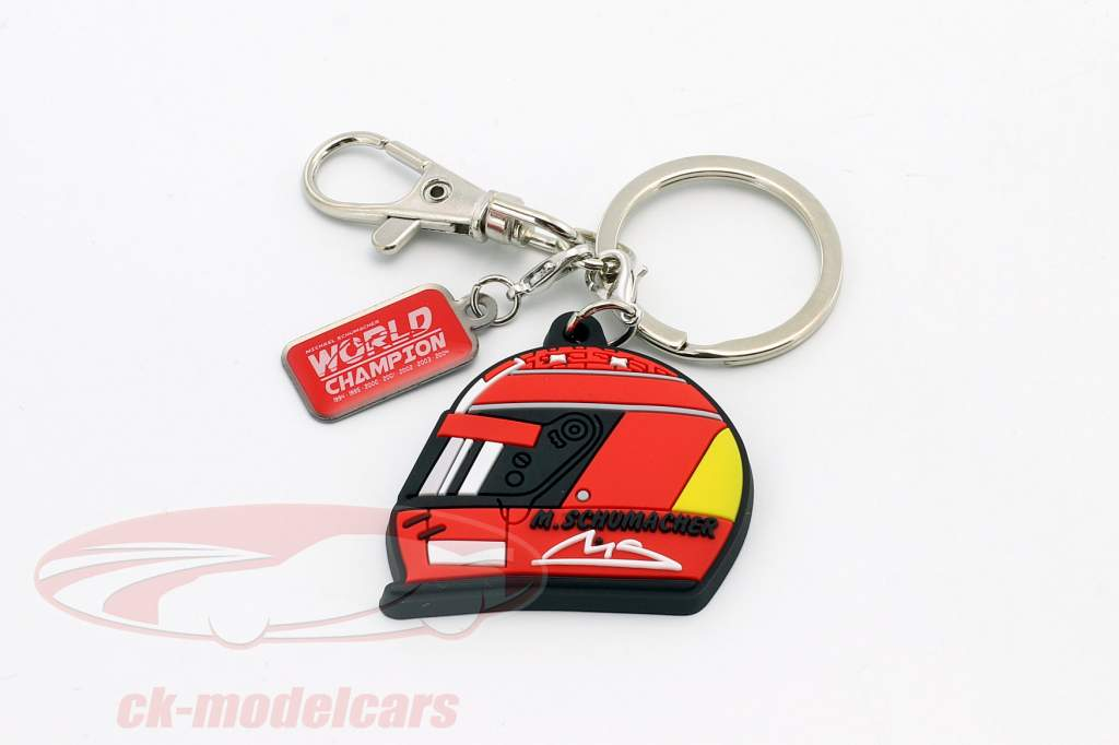 Michael Schumacher Keyring Helmet 2000 red