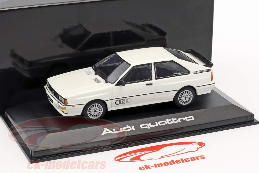 Audi Quattro weiß 1:43 Minichamps