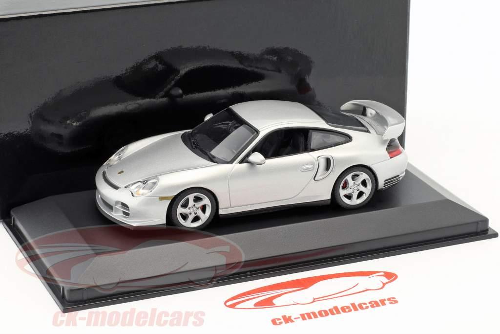 Porsche 911 (996) GT2 silver 1:43 Minichamps