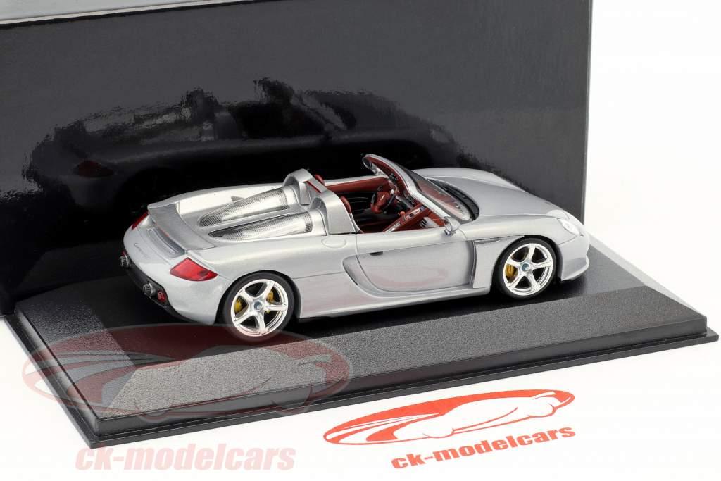 Porsche Carrera GT argent 1:43 Minichamps