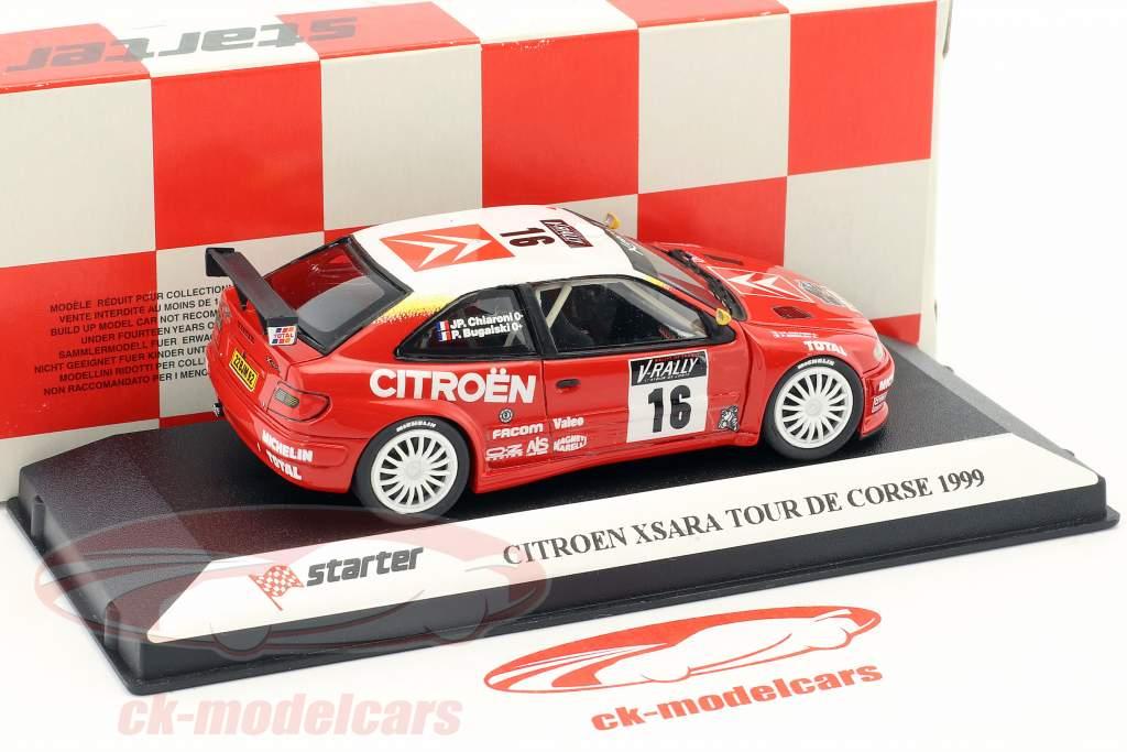 Citroen Xsara #16 Tour de Corse 1999 Charoni, Bugalski 1:43 Starter