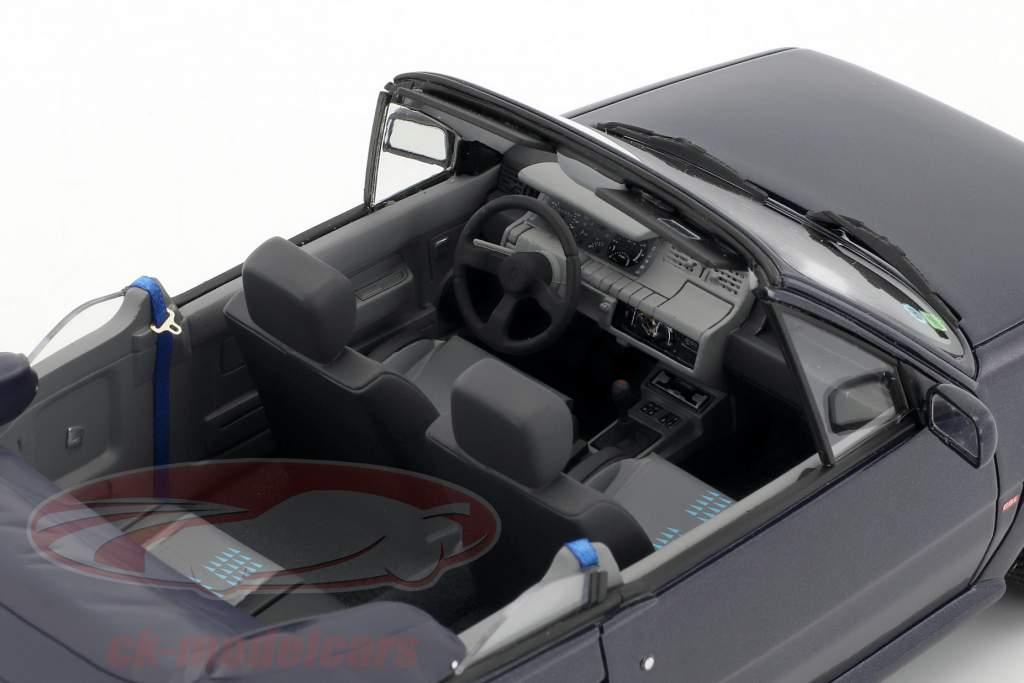 Renault 5 GT Turbo Cabriolet by EBS Baujahr 1990 blau 1:18 OttOmobile