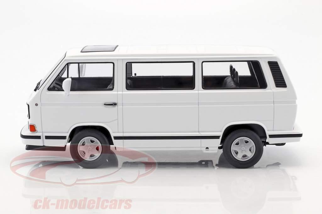 Volkswagen VW bus T3 White Star année de construction 1993 blanc 1:18 KK-Scale