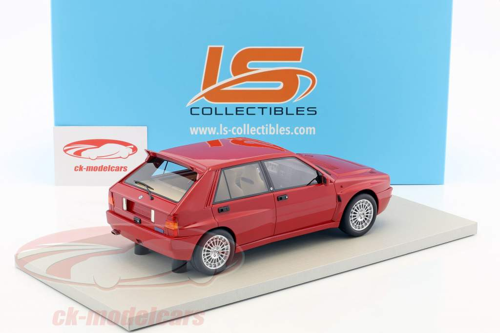 Lancia Delta Integrale Evolution II year 1993 red 1:18 LS Collectibles
