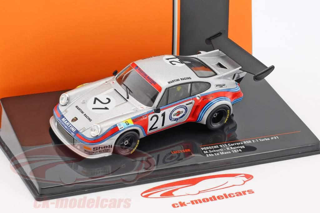Porsche 911 Carrera RSR 2.1 Turbo #21 24h LeMans 1974 Schurti, Koinigg 1:43 Ixo